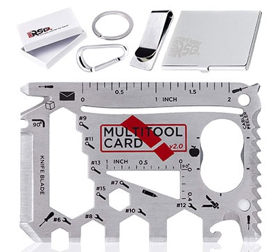 37 in 1 Wallet Multitool Card Set