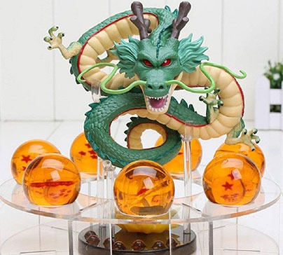 Acrylic Dragon Ball Figurine Set