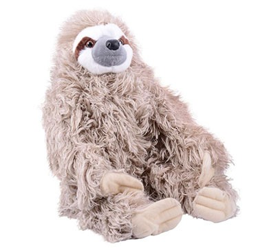 Cuddlekin Three Toed Sloth Plush