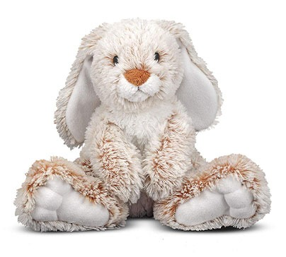 Cute Burrow Bunny Stuffed Animal