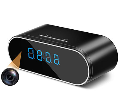 Digital Clock Hidden Spy Camera