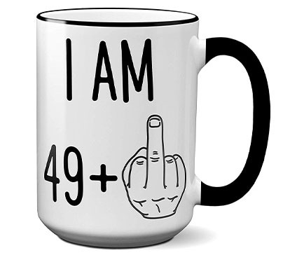 Funny 50th Birthday Coffee Mug Gift