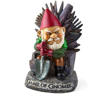 Game of Gnomes Comical Garden Gnome