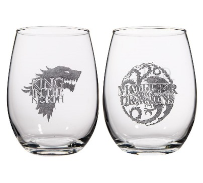 Game of Thrones Collectible Wine Glass Set