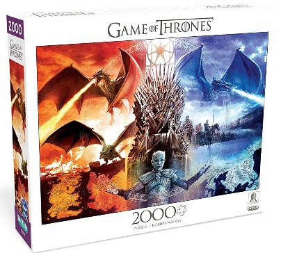 Game of Thrones Fire & Ice 2000 Piece Jigsaw Puzzle