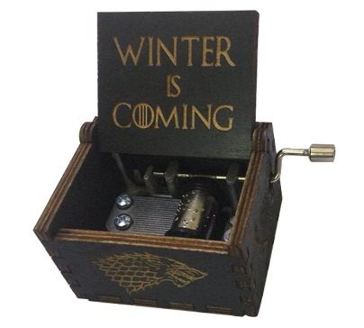 Game of Thrones Hand Crank Musical Box