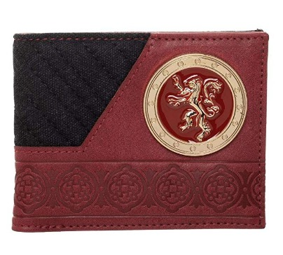 Game Of Thrones Lannister House Bi-Fold Wallet
