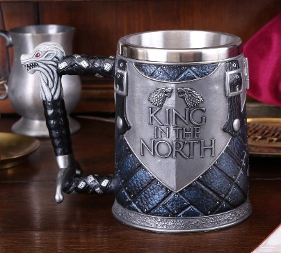 Game of Thrones - King of The North Tankard