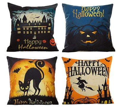 Halloween Decorative Throw Pillow Case