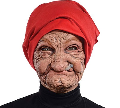 Halloween Mask - Old Nana