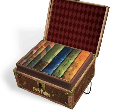 Harry Potter Books Set in Collectible Chest Box