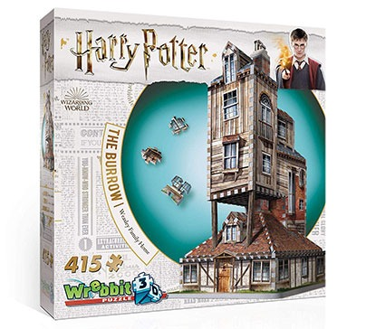 Harry Potter The Burrow 3D Jigsaw Puzzle