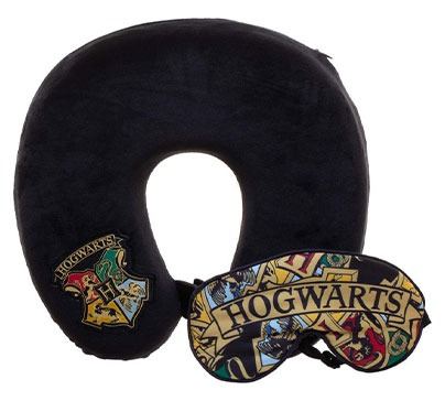 Harry Potter Travel Pillow and Sleep Mask