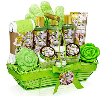Home Spa Gift Basket For Women