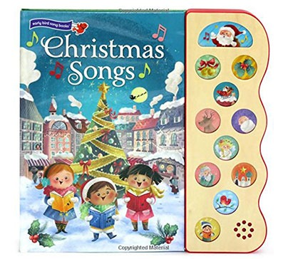 Interactive Christmas Children's Sound Book