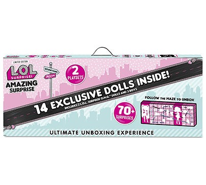 L.O.L. Surprise! Exclusive Dolls Set