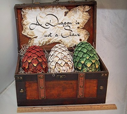 Large Size Game Of Throne's Inspired Dragon Eggs Set