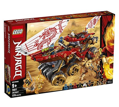 LEGO NINJAGO Land Bounty Set with Ninja Minifigures