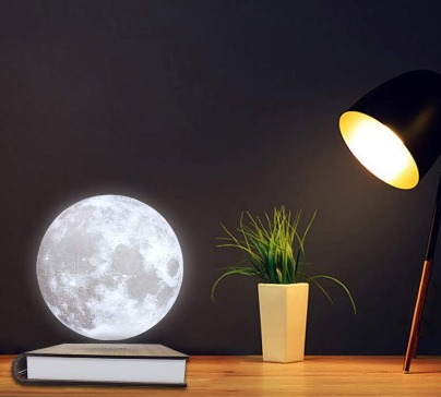 Magnetic 3D Levitation Moon Lamp