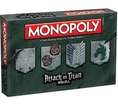 Monopoly Attack on Titan Board Game