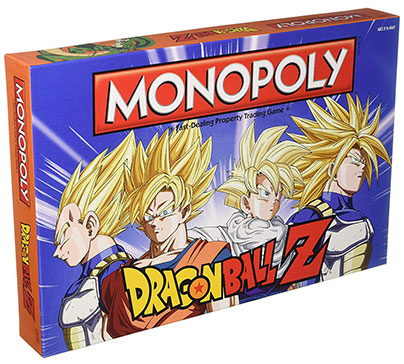 Monopoly Dragon Ball Z Board Game