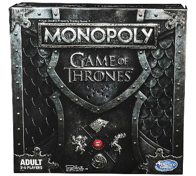 Adult version of Monopoly game based on the hit TV series Game of Thrones. Travel lands of Westeros as you buy, sell or trade locations from seven Kingdoms.