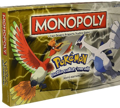 Monopoly Pokemon Johto Edition Board Game