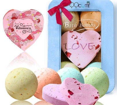 Natural Essential Oil Bath Bombs Gift Set