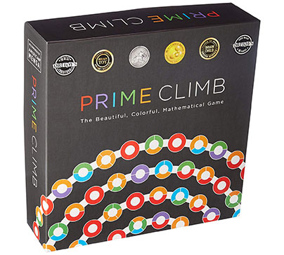Prime Climb Mathematical Board Game