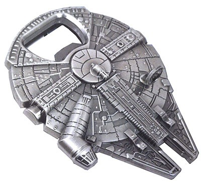 Star Wars Millenium Falcon Metal Bottle Opener