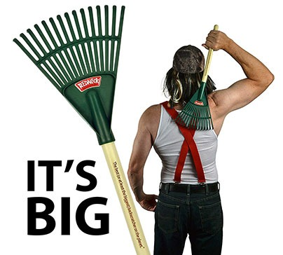 The best (or at least the Biggest) back scratcher on the Planet. This funny yet functional big back scratcher is an excellent gift for birthday, christmas or father's day gift.