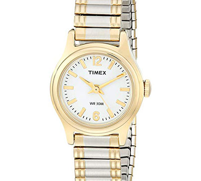 Timex Women's Two Tone Expansion Band Watch