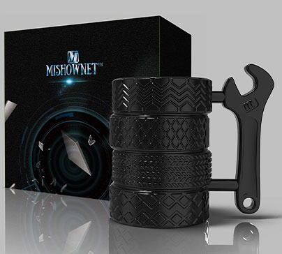 Tire Coffee Tea Mug For Car Enthusiasts