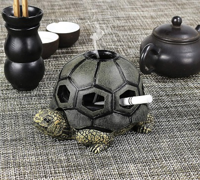 Turtle Ashtray for Cigarettes