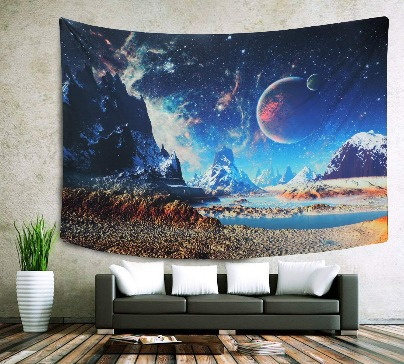 Wall Hanging Galaxy Tapestry
