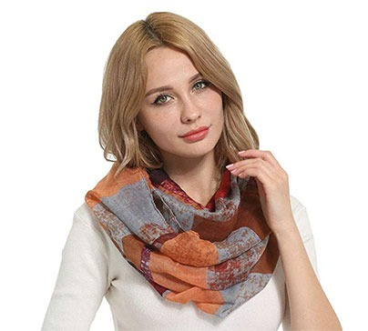 Women Lightweight Infinity Scarves