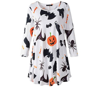 Women's Swing Tunic For Halloween