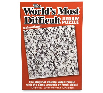 Worlds Most Difficult Jigsaw Puzzle Dalmatians